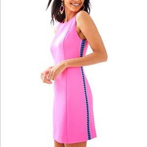NWT new worn Lilly Pulitzer Mila Shift Dress xxs